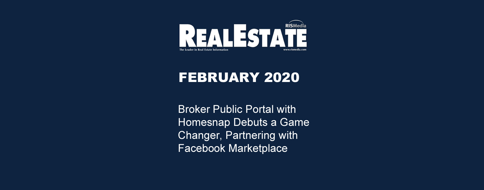 Real Estate Magazine February