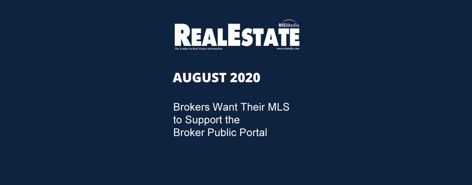 Real Estate Mag August 2020