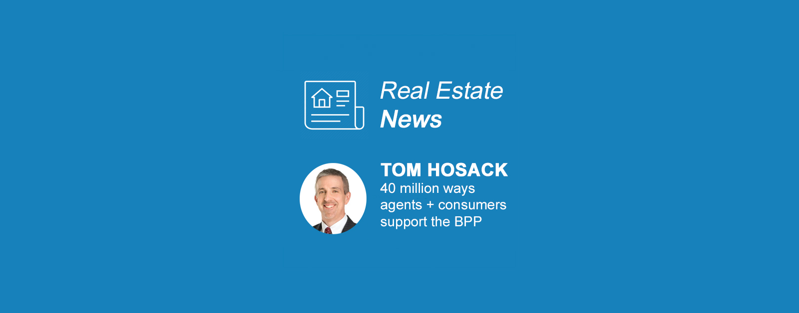Tom Hosack Blog 40 million ways